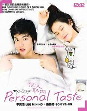 Korean Drama DVD: Personal Taste_Lee Min Ho_Good English Subtitle_FREE Shipping