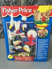 Fisher Price Great Adventures Magic Castle Witch & Wizard European#SEALED# RARE