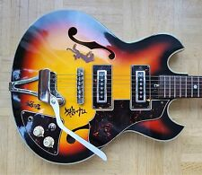 TEISCO Thinline ES-style E-Gitarre - 1960s vintage made in Japan