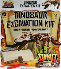 Large Dinosaur Excavation Kit - Dig Out Bones And Create A Dino Toy Model