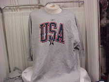 Official USA Basketball Team Issued Gray Reebok S/S T-shirt Size- 2XL-Tall