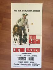 LOCANDINA L'ULTIMO BUSCADERO - STEVE Mc QUEEN - ORIGINALE