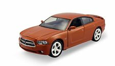 MotorMax 2011 Dodge Charger Hemi 1:24 scale diecast model car Orange M25