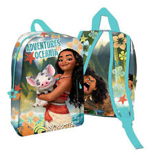 DISNEY VAIANA / MOANA School Bag Disney 30cm Backpack.NEW AND OFFICIAL MOANA