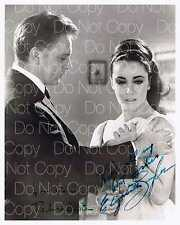 Elizabeth Taylor & Richard Burton signed 8X10 photo picture poster autograph RP