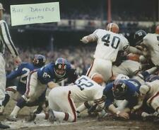 ERICH BARNES CLEVELAND BROWNS NEW YORK GIANTS 1969  8 X 10 ORIGINAL PHOTO 1