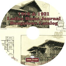 1916 & 1921 Ladies Home Journal Bungalow Plans Catalog { Shaker Style } on DVD