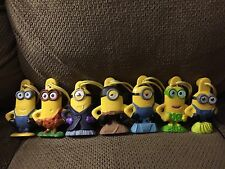 MINIONS--Full Set of 7 Including The Honeynut Cheerios Walmart Exclusive Minion