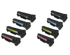 8pk Toner Cartridge 2 Sets For HP 131A Color LaserJet Pro 200 M251NW M276NW