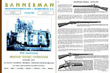 Bannerman 1945 Military Goods Catalogues