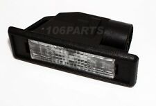 Peugeot 106 Rear Number Plate Light all 106 inc XSi RALLYE GTi S16 - Genuine