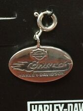 HARLEY DAVIDSON CHARM CONRADS ON FRONT BAR N SHIELD ON BACK NEW CHARM