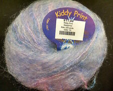 1  SKEIN  LAINES  DU  NORD  KIDDY  PRINT  MOHAIR   YARN