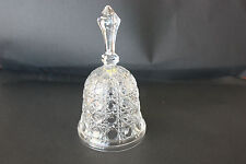 Good condition crystal glass bell