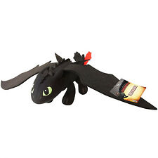 """DREAMWORKS HOW TO TRAIN YOUR DRAGON 2 - 14"""" DELUXE PLUSH TOOTHLESS BNWT"""