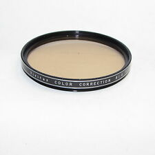 Genuine Vivitar Color Correction 81A 62mm 1.2x Lens Filter Made in Japan S940031