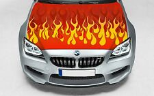 High quality hood wrap vinyl decal (suitable for any car) Flame