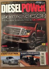 Diesel Power 16 Nissan Titan XD 5.0L Cummins Upgrades May 2015 FREE SHIPPING!