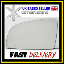 Left Wing Car Mirror Glass Replacement CONVEX Vauxhall MERIVA A 2003-2010