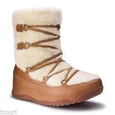 NEW FITFLOP SUPERBLITZZ BOOTS Girls Fur Winter Boots US 3 UK 2