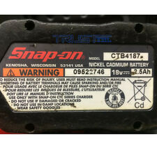 battery Rebuilt For SNAP-ON 18v 3000mAh High Capacity Ni-MH Battery CTB4187