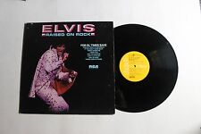 ELVIS PRESLEY Raised On Rock LP RCA APL1-0388 US 1973 VG+ EMBOSSED PROMO 12F