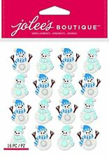 Jolee's Boutique Christmas Stickers - Snowmen Repeat -#1378