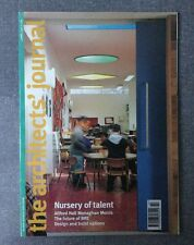 Architects Journal 4 Apr 96 St Mary's JMI School Kilburn, Monaghan Morris, War