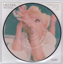 """Madonna - Take A Bow - Scarce UK Limited Edition Numbered vinyl 7"""" picture disc"""
