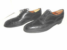 VINTAGE Brooks Brothers Brooks English Black Dress Oxfords 420 B  US 9.5 England
