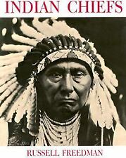 Indian Chiefs by Russell Freedman (1987, Paperback) Lots of Pictures