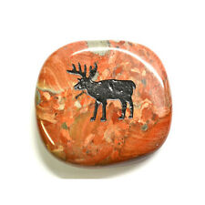 Deer Crystal Palm Totem Native American Power Stone For Peace, Love & Kindness
