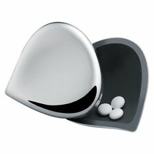 "Alessi ""Chestnut"" Stainless Steel Pill Box"