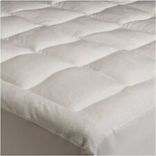 Soft Microplush Mattress Pad Cover Topper FULL Size Bed Pillow Top Micro Plush