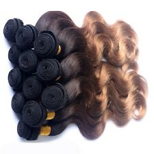 "Brazilian Virgin Hair Body Wave 12""14""16(300g)7A Ombre 1B/33/27 SAMEDAY DISPATCH"