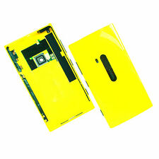 100% Genuine Nokia Lumia 920 rear housing+camera glass+side buttons Yellow back