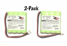 2-Pack Replacement Battery For Philips Pronto SBCRU990 / 960 / TSU3500117 Remote