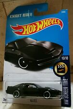 Hot Wheels KNIGHT RIDER K.I.T.T. KITT - El coche Fantástico. TV Series '80
