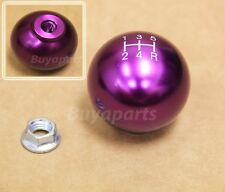 Purple aluminum ball style 5 speed Shift KNOB for 1993-1997 Honda Del Sol 5SP