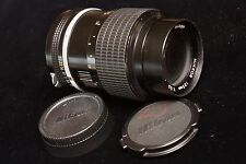 very nice Nikon NIKKOR Ai 135mm f/3.5 manual focus 35mm film camera prime lens