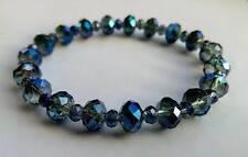 """Lichtbegleiter-Kristall-Armband """"Das Blaue Volk"""""""