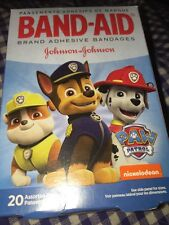 Paw Patrol Band Aids Bandages 20 In pack 3 motives kids 2 Sizes Puppies Pictures