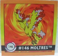 STICKERS ACTION FLIPZ ARTBOX - POKEMON MOLTRES - 146/150 misura cm. 5,1 x 5,1