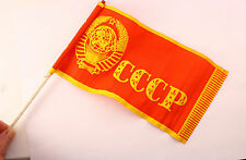 Vintage SOVIET RUSSIAN CHILDREN'S FLAG Small Flag USSR Red Soviet, 1 pieces