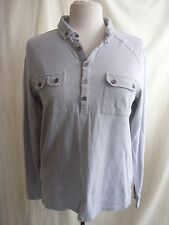 "Mens Shirt/Top - Ted Baker, size 3, 38"" chest, grey, smart/casual, nice - 7631"