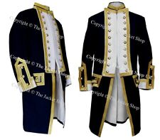 Royal Captains Frock Coat - Naval Uniform 1774