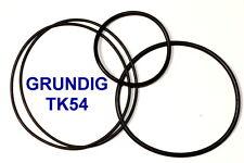 SET CINGHIE GRUNDIG TK 54 REGISTRATORE A BOBINE BOBINA NUOVE FRESCHE FORT TK54