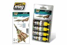 AMMO OF MIG A.MIG-7200 Acrylic Paint Set (4 jars) IAF Desert Colors 17ml