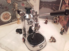 RARE La Pavoni Professional PL chrome espresso lever machine coffee FULL ACC.
