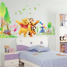 Winnie The Pooh Removable Kids Bedroom DIY Animal Decor Vinyl Wall Stickers